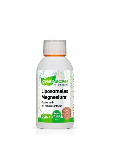 Green Leaves Vitamins Liposomales Magnesium+ (Optinerve) 250 ml