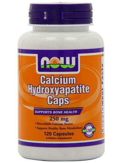 Now Foods Calcium Hydroxyapatite Caps 120 Capsules