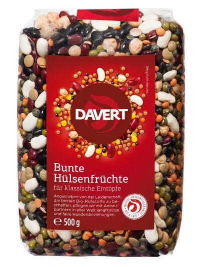 Davert Bunte Hülsenfrüchte 500g