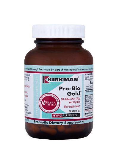 Kirkman Labs Pro-Bio Gold™ - Hypoallergenic 60 capsules