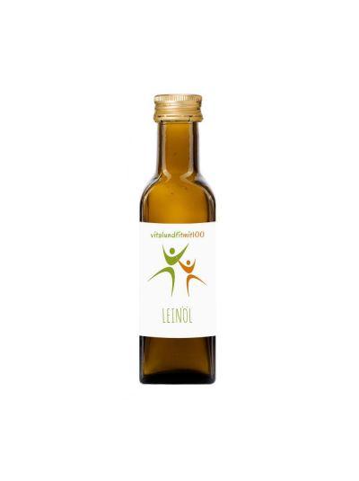 Vitalundfitmit100 Bio Leinöl (kaltgepresst) 100 ml