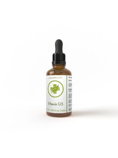 Vitamin D3 - Liquid (27,000 IU per ml / 1,000 IU per drop) 50 ml