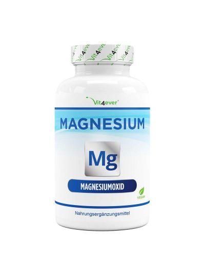 VIT4EVER MAGNESIUM 665 MG PER CAPSULE - 365 CAPSULES