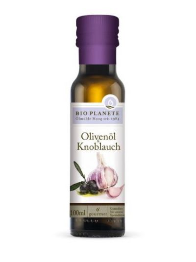 Bio Planète Olivenöl & Knoblauch BIO 100 ml