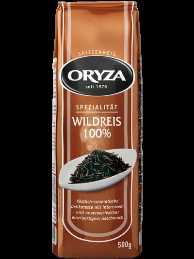 Oryza 100% Schwarzer wildreis Langkorn Reis 500 Gramm