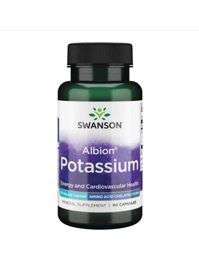 Swanson Ultra- Albion Potassium 99 mg 90 capsules