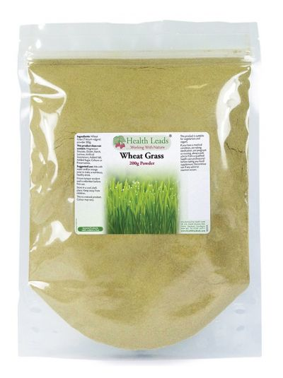 HEalth Leads Wheat grass powder 200g