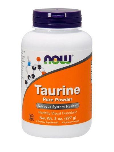 Now Foods Taurin reines Pulver 227 g