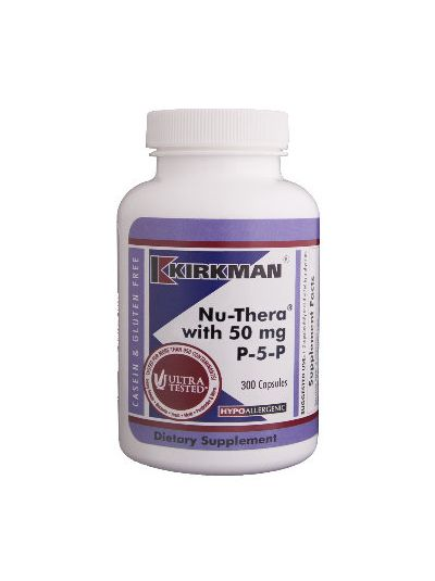 Nu-Thera® with 50 mg P-5-P Hypoallergenic - 300 capsules