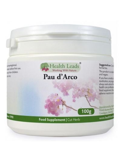 Health Leads PAU D'ARCO CUT HERB 100G