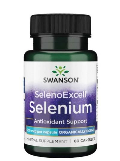 Swanson Selenoexcell 200 mcg 60 Kapseln