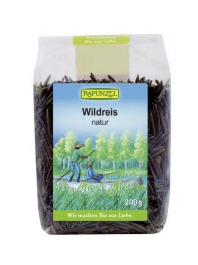 Rapunzel Schwarzer langkörniger Wildreis natur 200 g