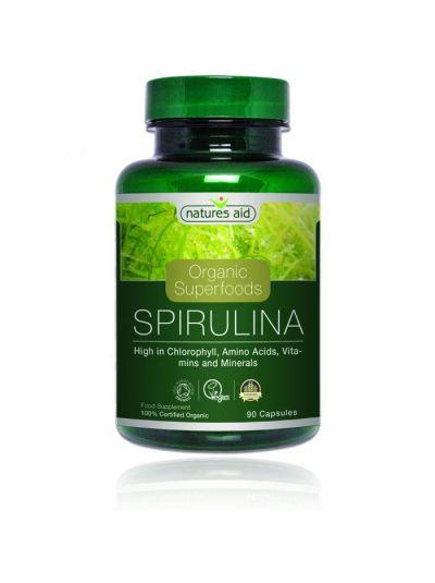 Nature's Aid Spirulina (BIO) 90 Kapseln