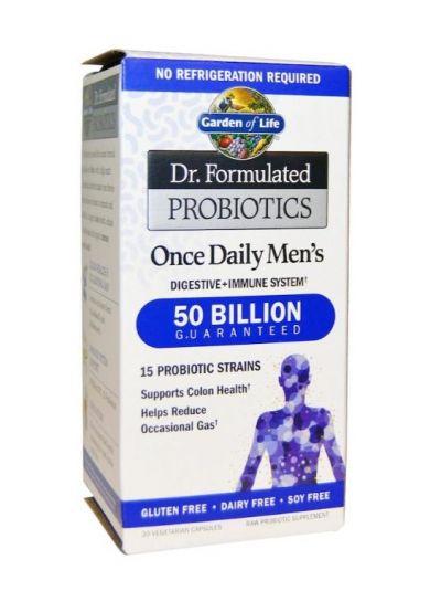Garden of Life Once Daily's Men Probiotika für Männer 30 vegetarische Kapseln