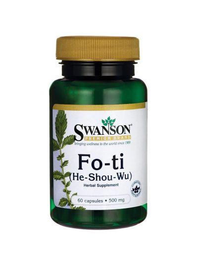 Swanson Fo-Ti He-Shou-Wu foti 500mg - 60 caps