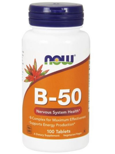 NOW FOODS B-50 KOMPLEX HOCHDOSIERT 250 Tabletten