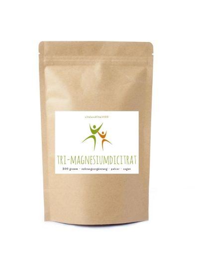 Vitalundfitmit100 Tri-Magnesiumdicitrat Pulver 300 g