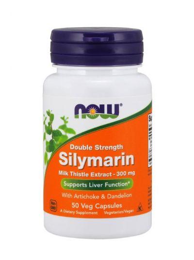 Now Foods Doppelt starkes Silymarin 300 mg m. Löwenzahn und Artischocke 50 Kapseln