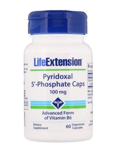Life Extension Pyridoxal-5-phosphat-Kapseln 100 mg 60 vegetarische Kapseln