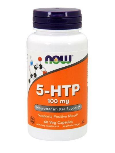 Now Foods 5-HTP 100 mg 60 vegetarische Kapseln