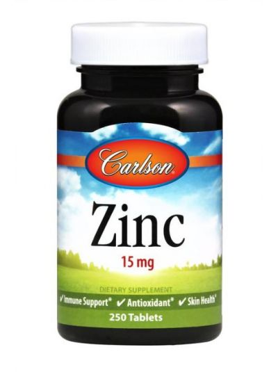 Carlson Labs Zink 15 mg 100 Tabletten