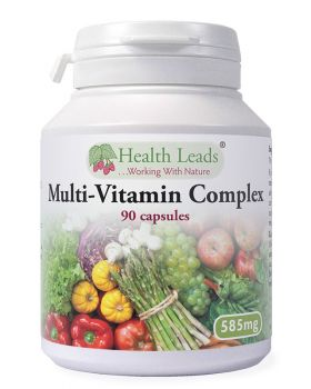 Health Leads Multivitamin-Complex 595 mg x 90 capsules