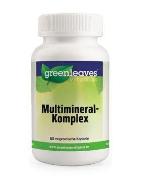 Green Leaves Multimineral Komplex 60 Kapseln