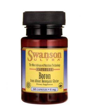 Swanson Bor von Albion Boroganic Glycin 6 mg 60 Kapseln