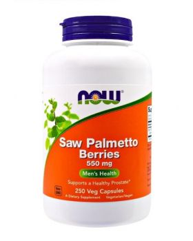 Now Foods Saw Palmetto Beere 550 mg 250 Veg Kapseln