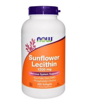 Now Foods Sonnenblumen Lecithin 1.200 mg, 200 Softgels