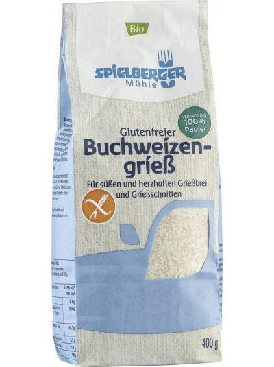 SPIELBERGER MÜHLE Glutenfreier BIO Buchweizengrieß 400g