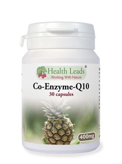 Co-Enzym-Q10, High Dosage, 400 mg, 30 caps