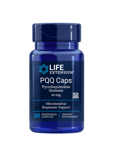 Life Extension PQQ Caps - 10 mg - 30 Vegetarian Capsules