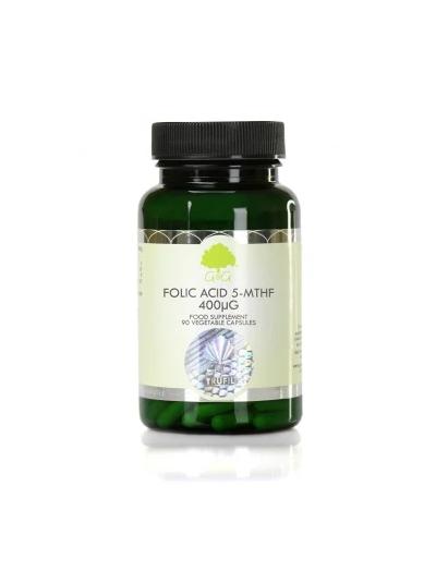 G&G VITAMINS Folic Acid (5-MTHF) 400µg - 120 Capsules