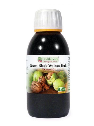 Health Leads Green Black Walnut Hull Tincture 1:2 125ml