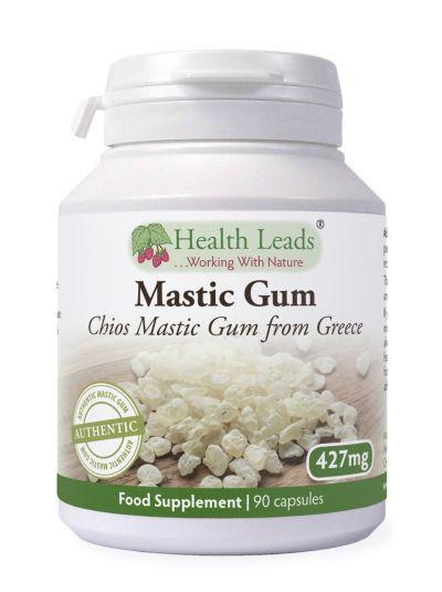 HEALTH LEADS MASTIX (MASTIC GUM) 427 MG X 20-90 KAPSELN