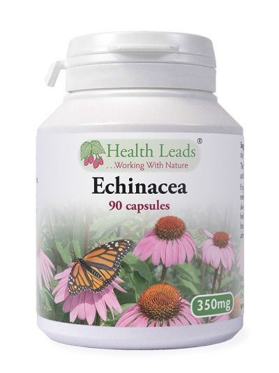 Health Leads ECHINACEA 350 MG X 90 CAPSULES