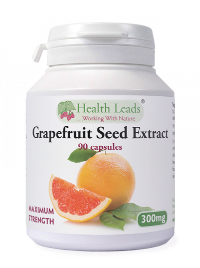 Health Leads Grapefruit Seed Extract 300mg x 90 capsules