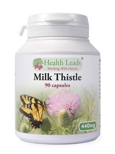 Health Leads MILK THISTLE 440MG X 90 CAPSULES