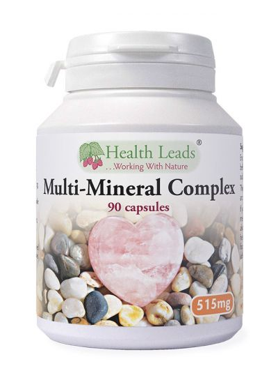 Health Leads Multi-Mineral Complex 515 mg x 90 capsules