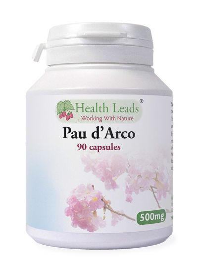 Health Leads PAU D'ARCO 500MG X 90 CAPSULES