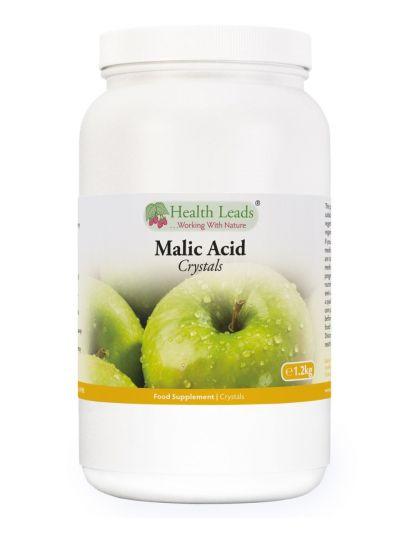 HEALTH LEADS APFELSÄURE (MALIC SÄURE) 1,2 kg