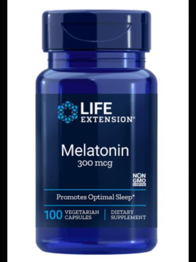 Life Extension Melatonin, 300 mcg, 100 vegetarian capsules
