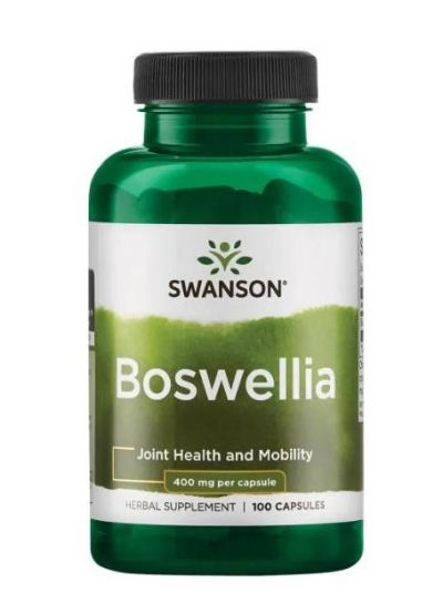 SWANSON BOSWELLIA FRANKINCENSE 400MG 100 CAPS
