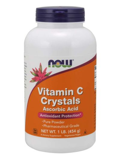 Now Foods, Vitamin C Crystals 454 g