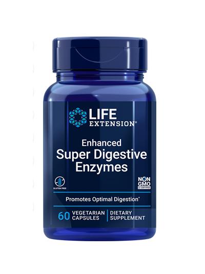 Life Extension Enhanced Super Digestive Enzymes - 60 Veg Caps