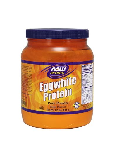 Now Foods 100% pure Eggwhite Protein 544 g