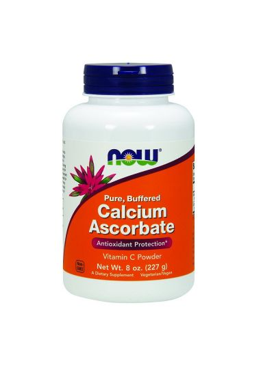 Now Foods Pure Buffered Calcium Ascorbate Vitamin C Powder (227 g)