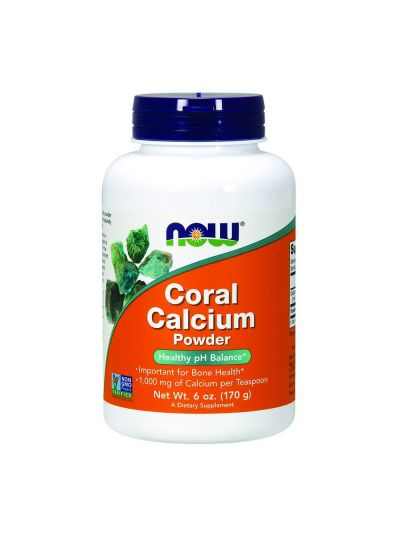 Now Foods Coral Calcium Powder 170 g