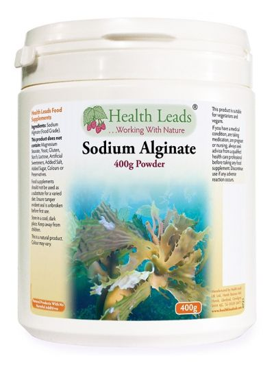 HEalth Leads Natrium Alginat (Lebensmittelqualität) 400 g